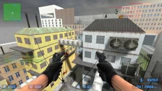Counter-Strike Source: Zombie Escape - ze_Rooftop_Runaway2_v5 on Unloze