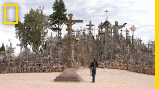 Go Inside Lithuania's Hill of Crosses   National Geographic