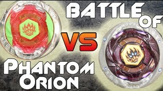 BATTLE: Phantom Orion B:D HYPERSBLADE VS Phantom Orion TAKARA TOMY 4D - Battle of The Geeks