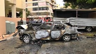 Hezbollah blames Israel for car bomb attack on Hamas official
