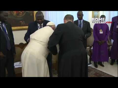 Xxx Mp4 Pope To Enemy Leaders Of South Sudan Your People Are Tired Of War 3gp Sex