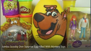 Jumbo Scooby Doo Surprise Egg Filled With Mystery Toys