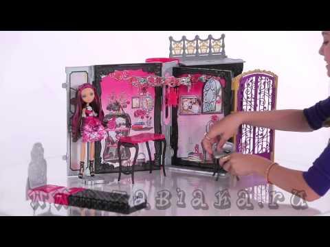 Домик для кукол эвер афтер хай видео своими руками