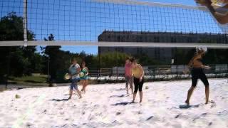 Beach Volleyball Drill Camp I. | 2015