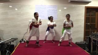 Pagla Hawar Badol Dine - Dance Performance on Pohela Boishakh 2015