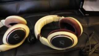 Fake Sennheiser HD-598 headphones review and comparison