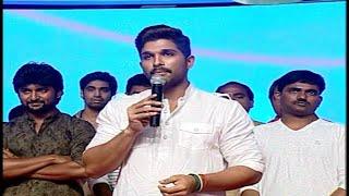 Allu Arjun Speech at Bale Bale Magadivoy Audio Launch | Nani | Lavanya Tripathi | Vanitha TV