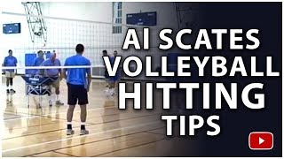 Volleyball Tips from Coach Al Scates - The Wrist Away Shot and Cross Body Shot