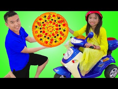 Xxx Mp4 Wendy Pretend Play Kids Pizza Delivery Food Restaurant Oven Toy W A Scooter 3gp Sex