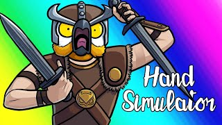 Hand Simulator Funny Moments - Viking Warfare!
