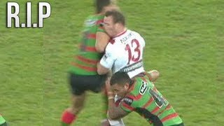 RUGBY LEAGUE HITS - BRING BACK THE SHOULDER CHARGE!