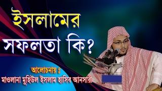 ইসলামে সফলতা কি  Bangla Waz  Muhiul Islam Hasib Ansari 2017