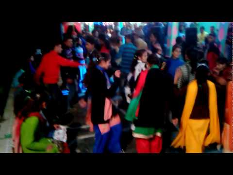 Himachali Desi local marriage dance by girls on DJ