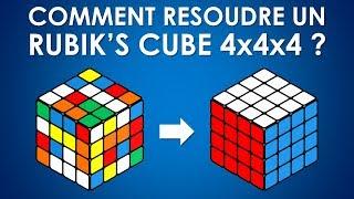 Comment résoudre un Rubik's Cube 4x4x4 ?