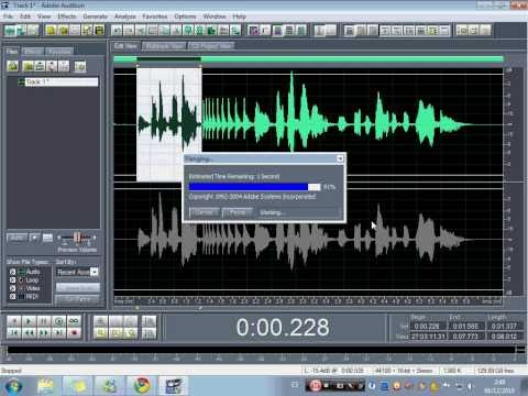 como hacer un jingle de dj en adobe audition by dj yeyo