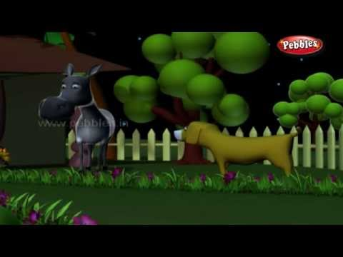 Dog and Donkey   জঙ্গলের গল্প   3D Moral Stories For Kids in Bengali   Jungle Stories in Bengali