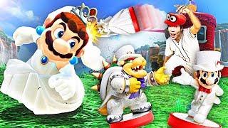 【屌德斯解说】 超级马里奥 奥德赛 解锁全套新婚Amiibo!你见过马里奥穿婚纱吗?