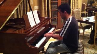 یکی از آهنگهای بسیار زیبای استاد صبا اجرا با پیانو کاری از فرید افشاری