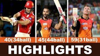 IPL 2016 Highlights   SRH vs KXIP Match Highlights   Hyderabad vs Punjab Highlights 2016 #Images