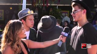 Hayes Grier reveals if they would date a fan