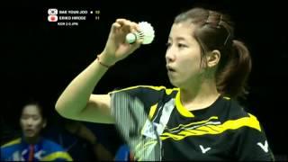 Semi Finals - Korea (Bae Y.J.) vs Japan (E.Hirose) - Uber Cup 2012