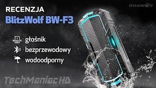 Tani i dobry wodoodporny głośnik Bluetooth. Unboxing + recenzja BlitzWolf BW-F3
