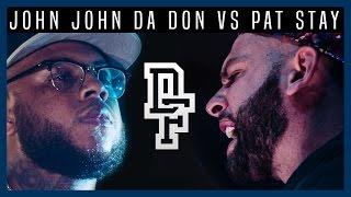 JOHN JOHN DA DON VS PAT STAY  | Don't Flop Rap Battle @ A3C Festival 2016
