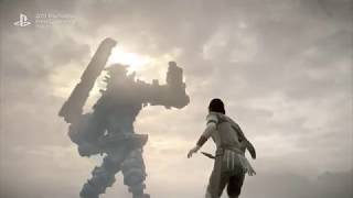 Shadow of the Colossus PS4 Trailer Tokyo Game Show 2017