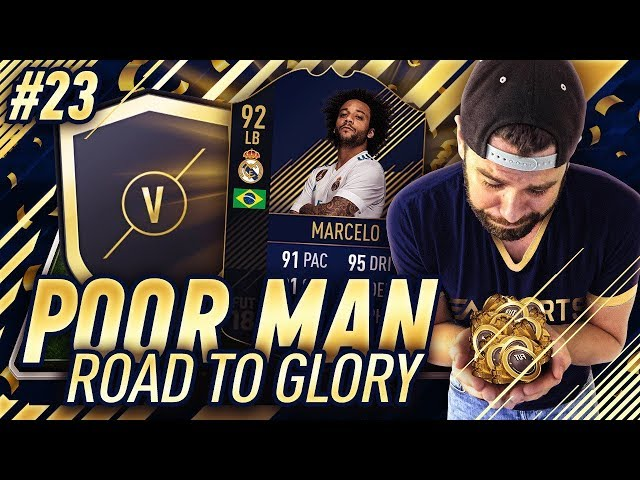 MARQUEE MATCHUP SBC PROFIT!!! TOTY MARCELO SOON?! - Poor Man RTG #23 - FIFA 18 Ultimate Team