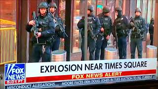 BREAKING! Explosion! Bomb! Times Square New York! Suspect in Custody