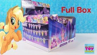 My Little Pony Movie Series Figures Full Box MLP Toy Opening Review | PSToyReviews