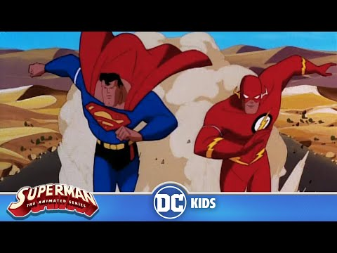 Xxx Mp4 Superman The Animated Series Superman Races The Flash DC Kids 3gp Sex
