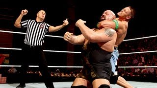 John Cena vs. Big Show - No. 1 Contender's Match: Raw, July 30, 2012