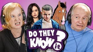 DO ELDERS KNOW NETFLIX SHOWS? (REACT: Do They Know It?)