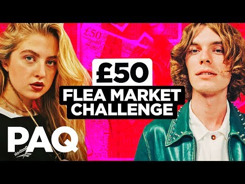 £50 Flea Market Thrift ft. Anais Gallagher PAQ Ep 69 A Show About Streetwear and Fashion