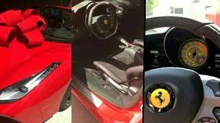 Blac Chyna Gets A $273K Red Ferrari On Her Birthday