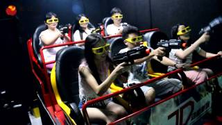 How the 7D cinema work----Video of 7D dynamic interactive theater experience