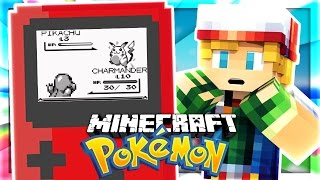 POKEMON RECREATED IN MINECRAFT!