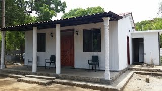 Housing Initiative in Jaffna, Sri Lanka (House Built in 3 Days)