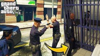 ¿Que Pasa Si Un Policia Comete Un Crimen, Tendra Estrellas y Lo Arrestaran? GTA 5