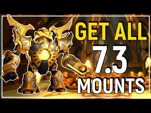 Patch 7.3 Mount Guide: How To Get Every New Mount on Argus