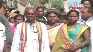 BJD Candidates File Their Nomination For Panchayat Election In Ganjam