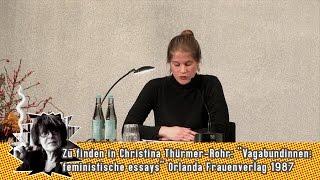 Welt lesen. Zum 80. Geburtstag von Christina Thürmer-Rohr