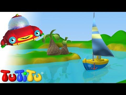 плыть на лодке мультик