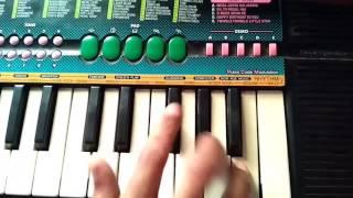 Mamacya porila zatkyat patvali marathi song piano by nikhil