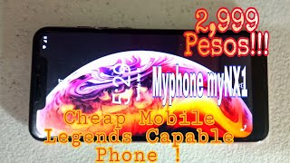 ONLY 2,999 PHP !!! MyPhone myNX1  Android Go!!! Size 6.1 inches with Notch Screen Display😊