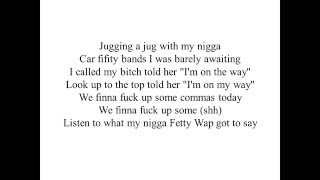 Yung Ralp ft Fetty Wap - Act a fool lyric ( M4L)