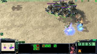 StarCraft2 : 15 Schwere Kreuzer vs 20 Archons