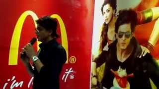 Chennai Express - Shah Rukh Khan at Mc Donalds. (Part 1)