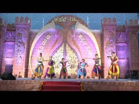 ಕಹಳೆ ಹಬ್ಬದಲ್ಲಿ ಭರತನಾಟ್ಯದ ಸೊಭಗು (kahale-bharathanatya.kannada sangha)